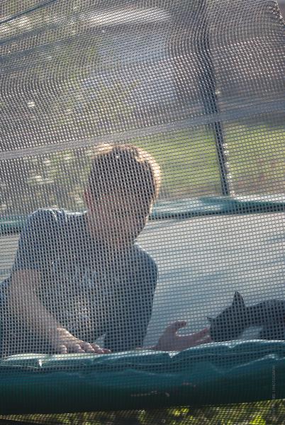 im Garten im Sommer, Iryna Mathes