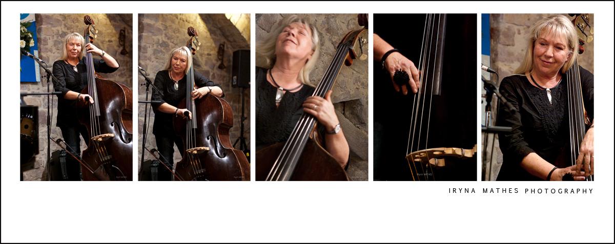 Konzert Fotografie Iryna Mathes. Collage, Jazz