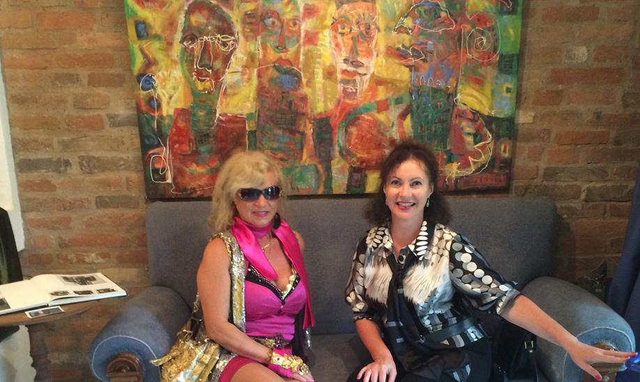 Iryna Mathes und Adriane Reinert