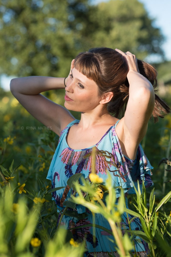 Outdoor Portrait, Iryna Mathes photography