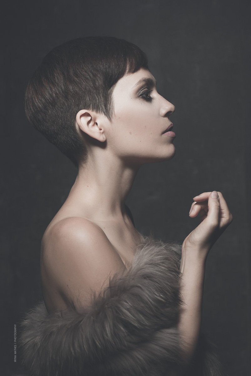 Portrait Photography, Art work. Iryna Mathes