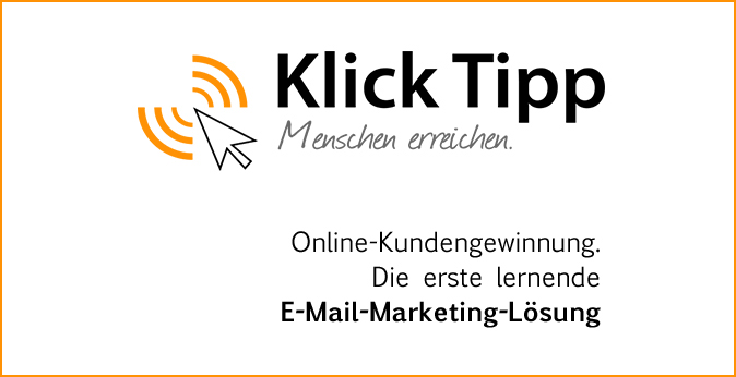 Online-Kundengewinnung.  E-Mail-Marketing-Lösung